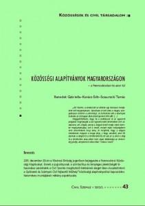 A közösségi alapítványok Magyarországon - a Ferencvárosban és azon túl c. írás megjelent a Civil Szemle 2012/2. számában